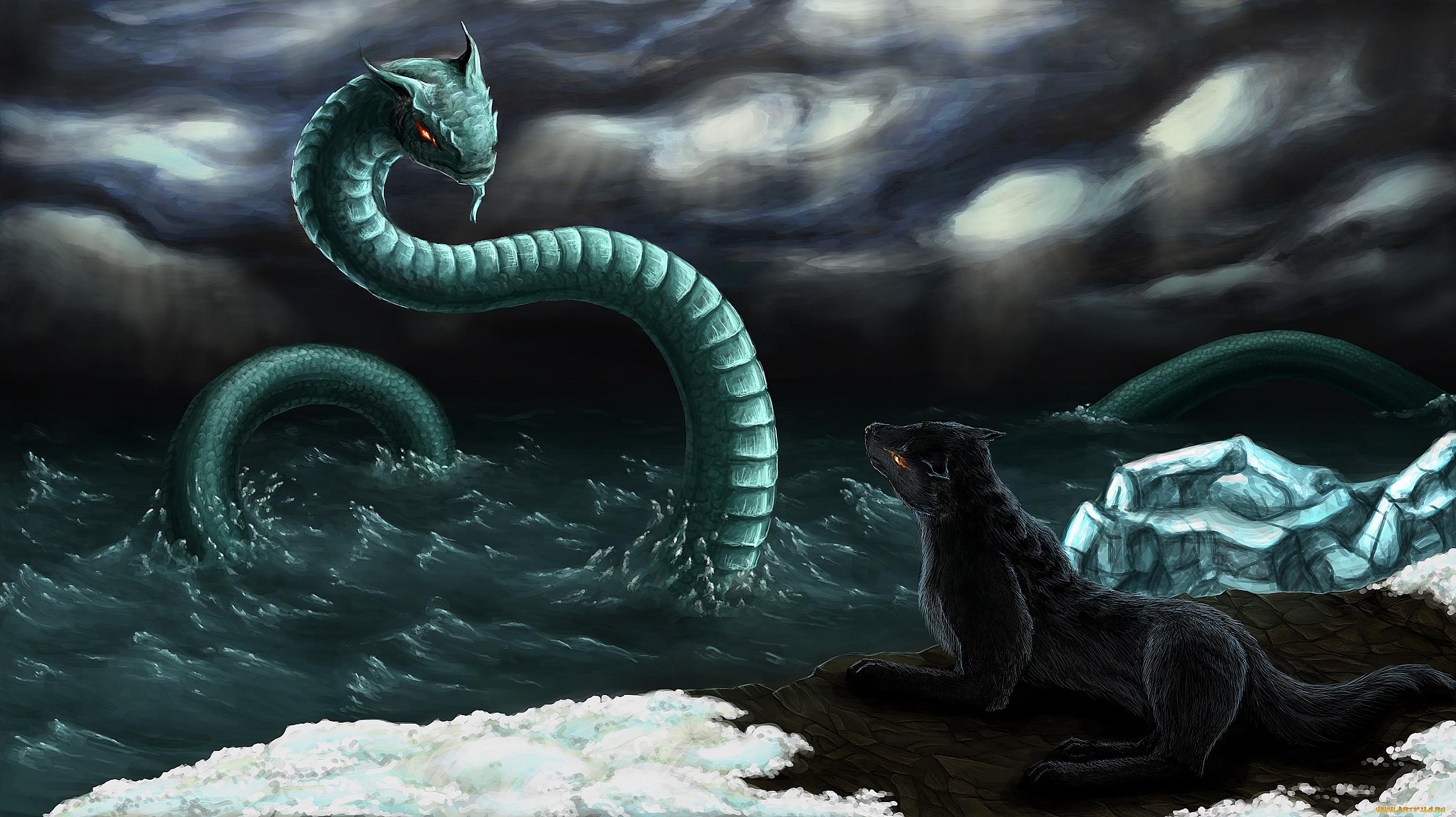 фэнтези картинки змея и кубка нашем сумасшедшей жизни